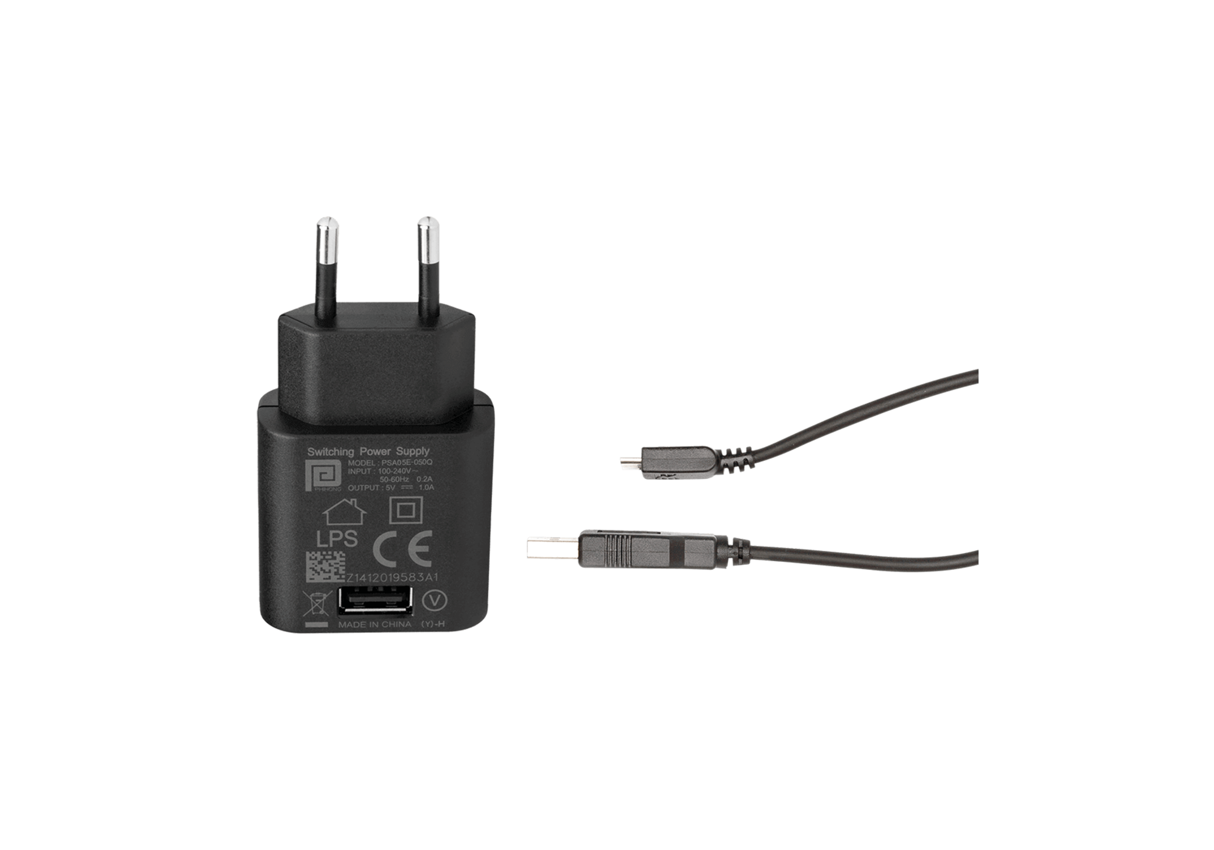 USB Power Supply and Adapter Cable