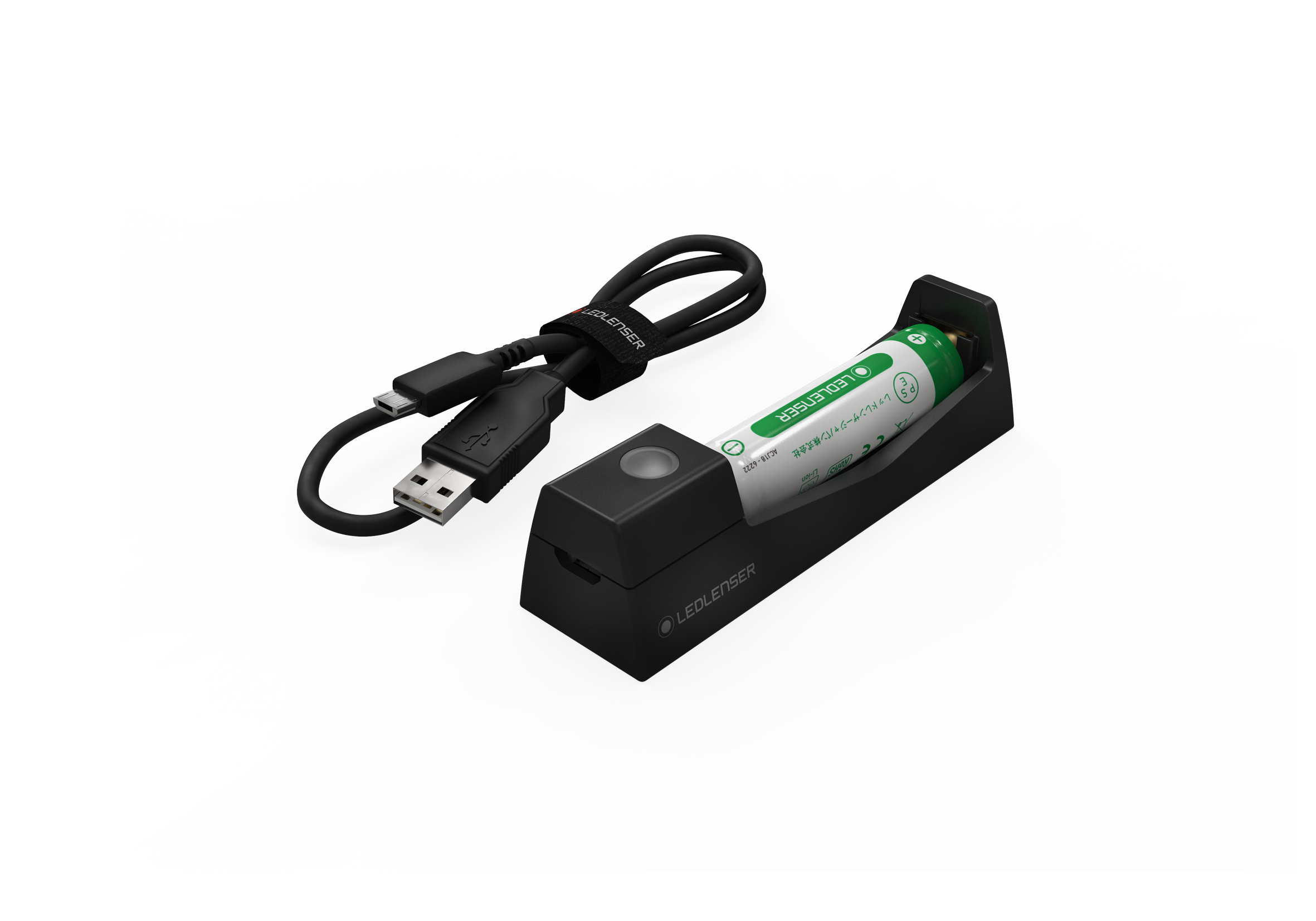 Charging station and 14500 li-ion rechargeable battery